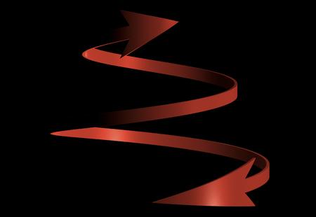 choose a path: Arrow Stock Photo