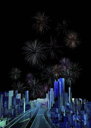 advanced technology: Fireworks