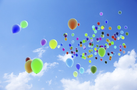Ballonnen Stockfoto