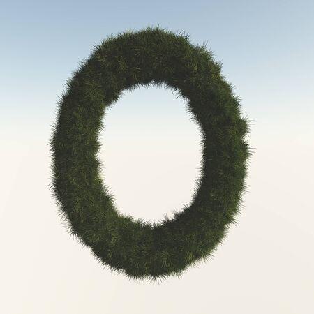 torus: Lawn from torus Stock Photo