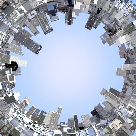 advanced technology: CG buildings