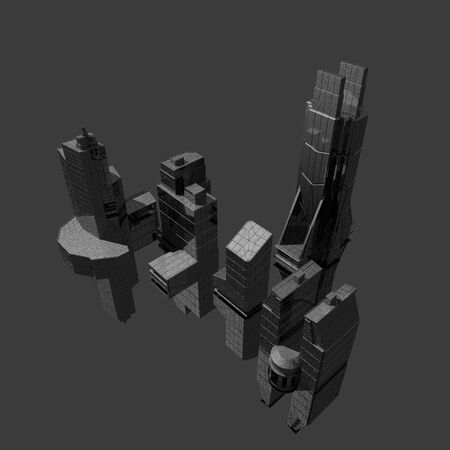 townscape: CG buildings