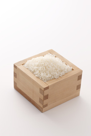 newcomer: Uncooked rice Stock Photo