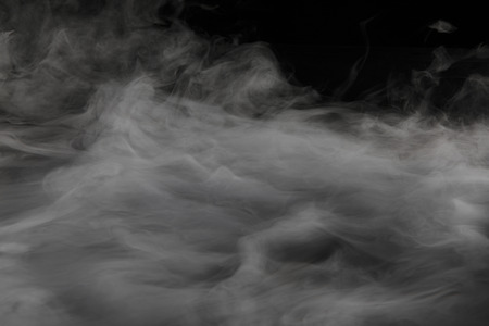 ドライアイスの煙