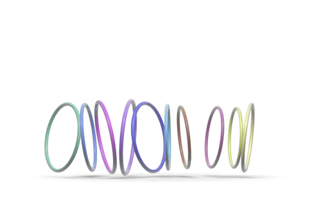 three dimension shape: Hoop