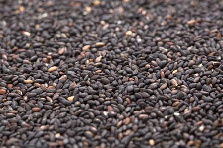 black sesame: Black sesame