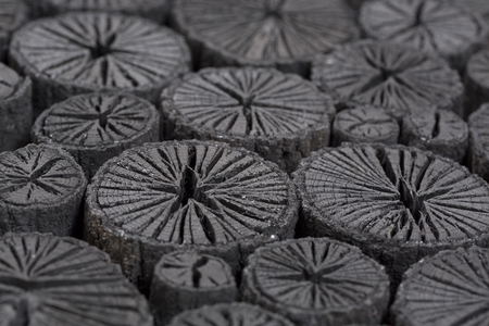 Ehime Prefecture of Quercus acutissima Chrysanthemum charcoal
