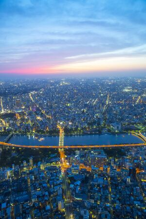 urbanscape: Streets of the night to see from Tokyo Sky Tree