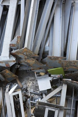 scrap iron: Iron material to be recycled