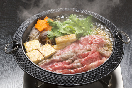 Sukiyaki Stock Photo