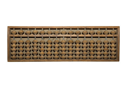 repel: Old abacus Stock Photo