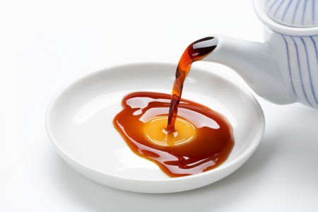 refers: Pour the oil soup Stock Photo