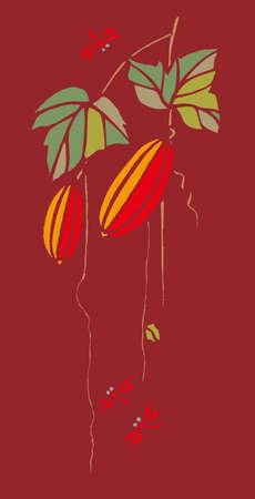 kindergartener: Kirie snake gourd played back