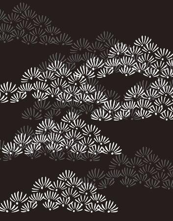 pine needle: Pattern Stock Photo