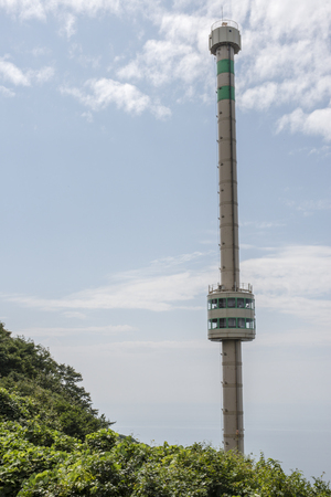 hokuriku: Yahiko Ropuue summit station of the Panorama Tower
