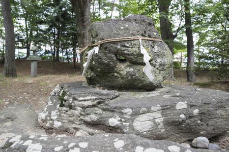 tenacity: Stone of tenacity Stock Photo