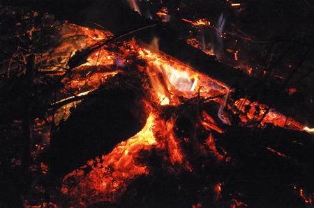 blazing: Blazing fire