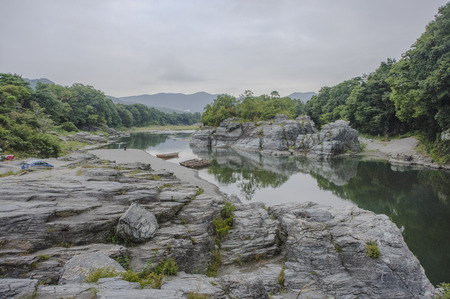 upstream: Landscape of nagatoro