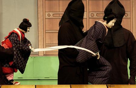 puppet show: Japanese puppet show
