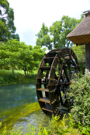 water turbine: Water turbine and water