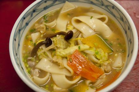 specialty: Specialty dumpling soup Stock Photo
