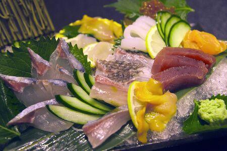 institutions: Seki horse mackerel institutions mackerel sashimi