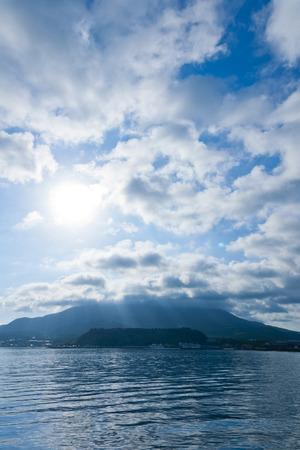 amanecer: Ma�ana del Sakurajima