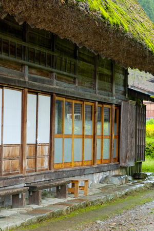 thatched: Thatched and veranda Stock Photo