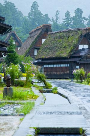 ogimachi: Principal ridgepole Shirakawa-go