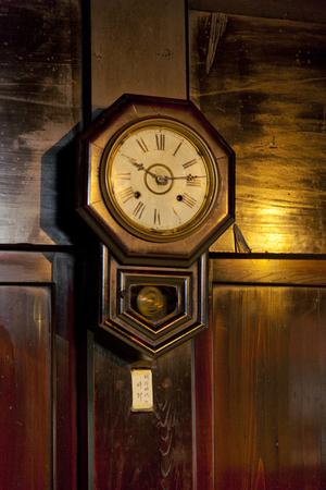 Wall clock of the Meiji era