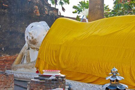chai: Nirvana image of Wat Yai Chai Mongkol