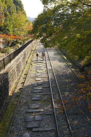 incline: Incline Kyoto Keage Stock Photo