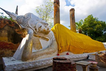 nirvana: Nirvana image of Wat Yai Chai Mongkol