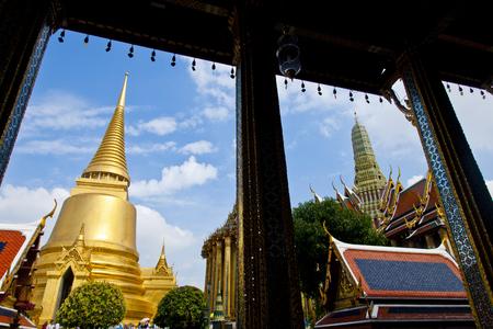 Wat Phra Kaew: Wat Phra Kaew Stock Photo