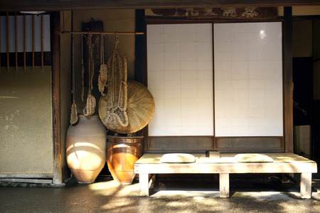 intermission: Sum teahouse Stock Photo