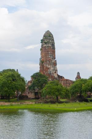 chai: Wat Chai cotton toner alarm pagoda Stock Photo