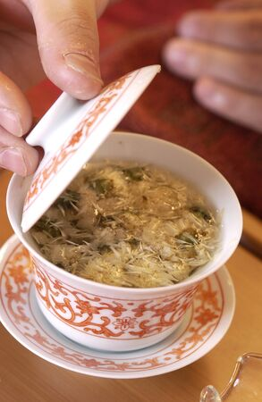 detoxification: Manners of chrysanthemum tea
