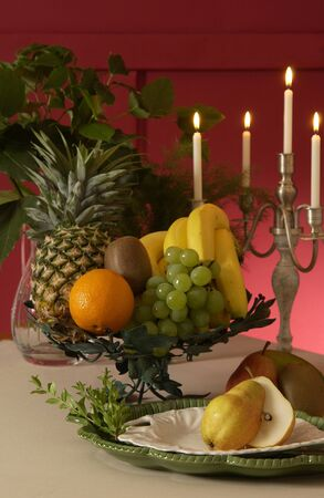 annual events: Table image Stock Photo