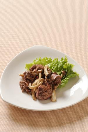 higado de pollo: Sabor de h�gado de pollo Sote