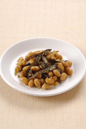 saute: Soybean and curry saute