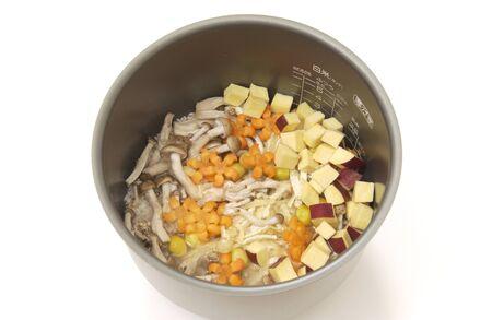japanese maples: Sweet potato mix ingredients of rice