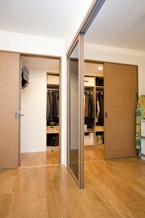 closet: Wide closet