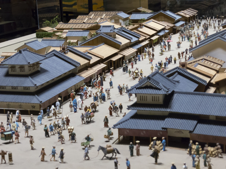 Miniature of the town level of Edo