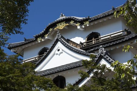 cultural artifacts: Tower of Hikone Castle Editorial