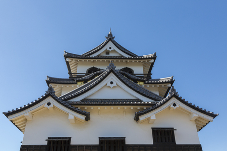 pleasent: Tower of Hikone Castle Editorial