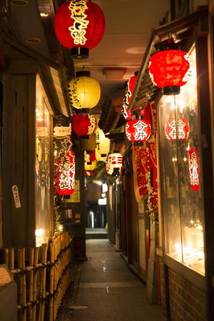 Dotonbori de Ukiyo callejón