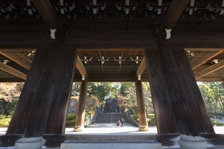 main gate: Main gate of Chion