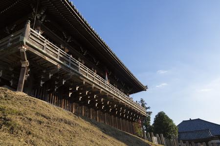 cultural artifacts: Todai-ji Temple Nigatsu Hall