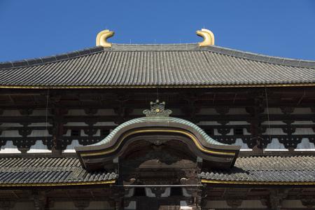 cultural artifacts: Todaiji Temple Editorial