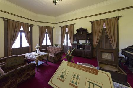ringer: Glover Garden Ringer House of drawing room Editorial